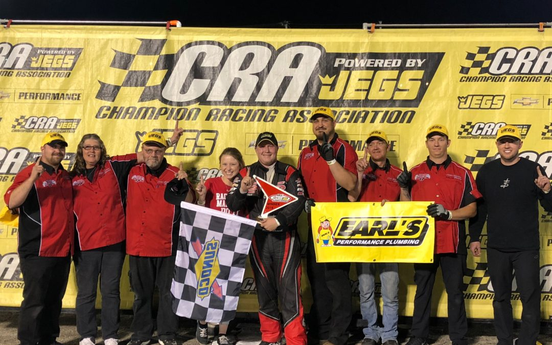 Brock Earns First Career CRA Win at Anderson