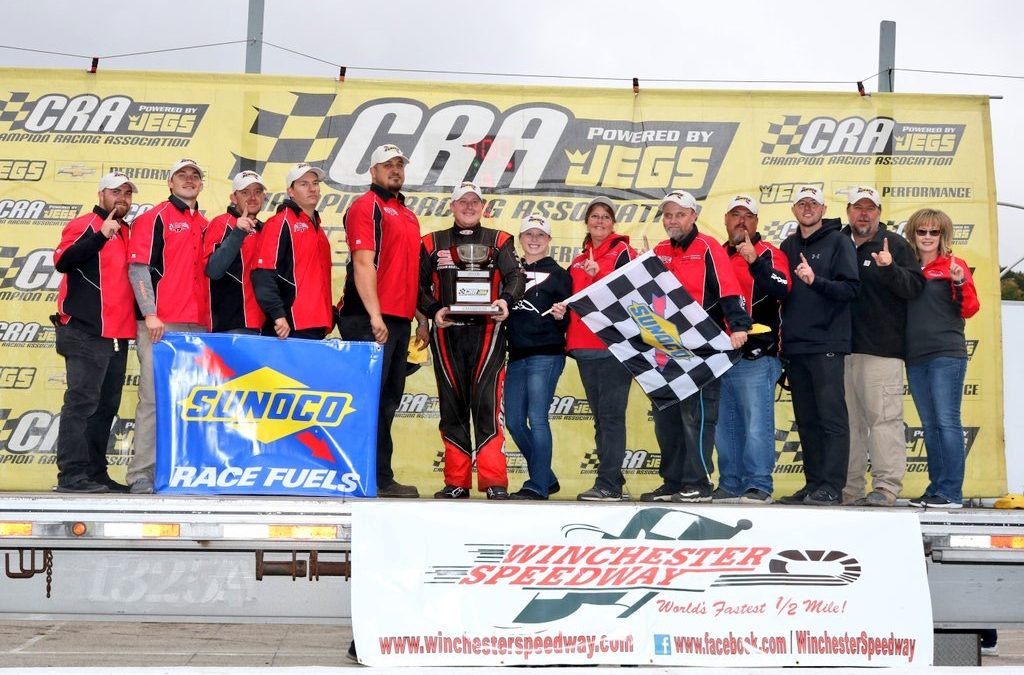 Brock Looks to Defend CRA Championship at the Winchester 400